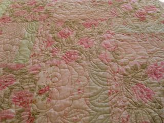 Quilted roses