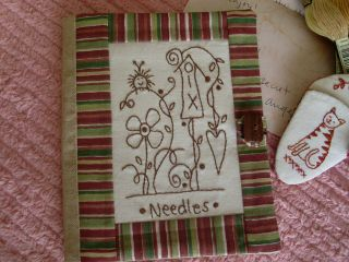 Cover of the needle book