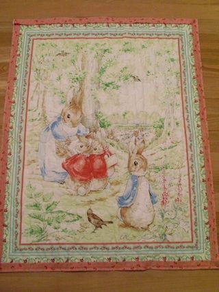 Peter rabbit quilt 002