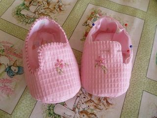 Wee little bebe shoes