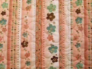 Maree flower fields playing with paisley quilting