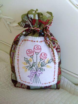Christmas gift bag for Janie