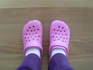 CROCS - the quintessential quilting footwear