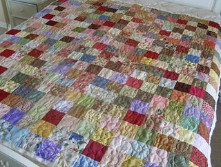 Lornas scrappy quilt