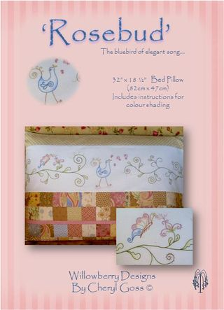 Rosebud pattern cover