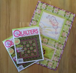 Quilters newsletter mag