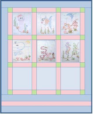Block positions 1 - 6
