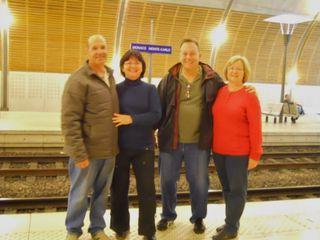 At monaco - monte carlo train station