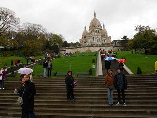At sacre coeur in Paris