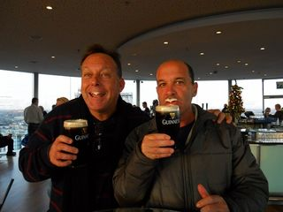 The boys at the guinness brewery