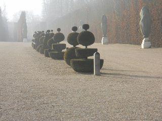 Versailles gardens in Autumn