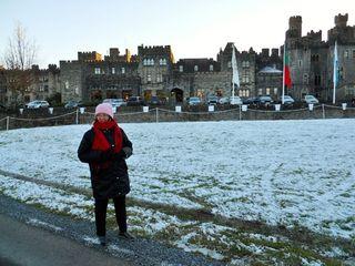 Ashford castle snow