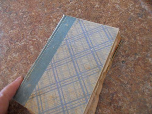 Mum's little blue book