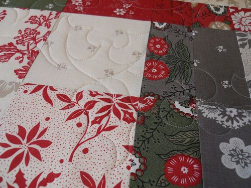 Supper cloth quilting