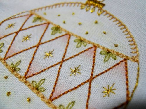 Beautiful baubles progress15