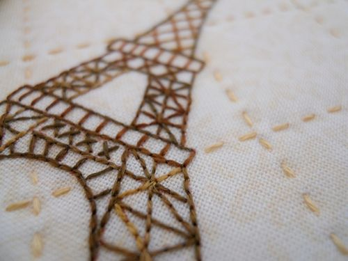 French stitching09