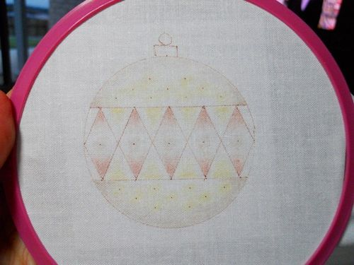 Beautiful baubles progress12