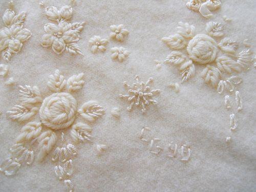 Wool baby blanket2